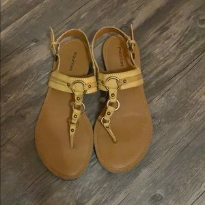 Maurice's Buckle Sandals